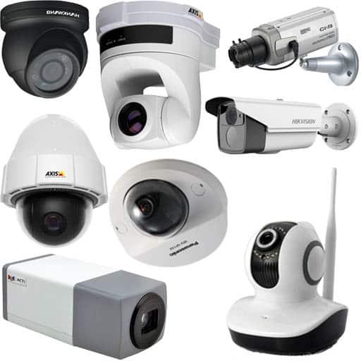 قیمت انواع دوربین مداربسته