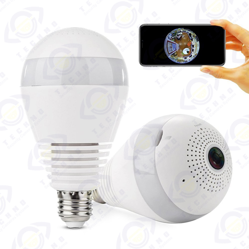 دوربین مداربسته مدل لامپ