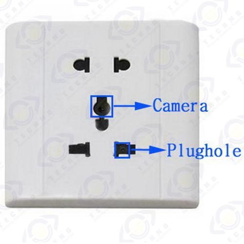 دوربین جاسوسی در داخل پریز برق